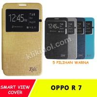 Sarung Flip Cover Case Casing Idol Oppo R 7