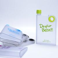Jual NEW New Memo Bottle Do Your Best Doff / Botol Minum Plastik MemoBottle Murah