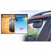 TRAND Auto Cool Solar Car Kipas Solar Ventilasi Panas Mobil Automatis