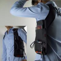 Jual JUAL Tas gadget Tas Bahu FBI Anti-thief Hidden Underarm import bukan l Murah