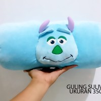 Bantal Guling Boneka Sulivan Monster Inc Mike Impor