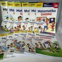 Jual Matematika Metode GASING Jilid 1A-6B (12 buku + 12 CD) Murah