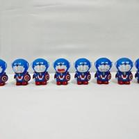 Jual Figure / Koleksi / Mainan / Pajangan Doraemon Captain America Murah