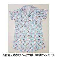Jual Daster Wanita - Hello Kitty Melody Dress Pajamas Baju Tidur Piyama Murah
