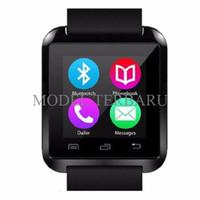 Jual PRODUK BARU Smartwatch U Watch U8 - Black Smart Watch I-One Murah