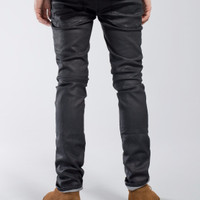 Nudie Jeans Thin Finn Back 2 Black (Black Coated)