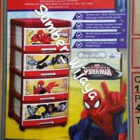 harga Lemari Laci Plastik Napolly Susun 4 - Spiderman Sfc2 4000 Spgc Tokopedia.com