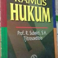 KAMUS HUKUM PENERBIT PRADNYA PARAMITA