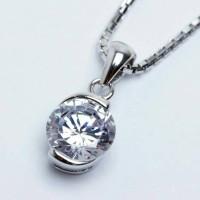 Aksesoris Kalung Perak Lapis Emas Terbaru Fairy Box - WG 325