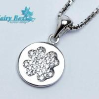Aksesoris Kalung Perak Lapis Emas Terbaru Fairy Box - WG 332