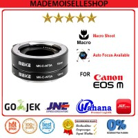 Meike Macro Extention Tube For Canon EOS M-Mount / Canon EOS M/M2/M3/M