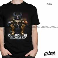 Jual Baju Kaos Tshirt Thanos | Kaos Guardian Of The Galaxy | Baju Kaos 3D Murah