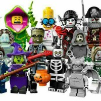Lego Minifig Helloween Set