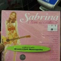 CD SABRINA - I LOVE ACOUSTIC VOL.5