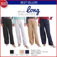 Jual PROMO! Basic Long Cullotes Pants Celana Kulot Panjang Wanita JP148- Murah