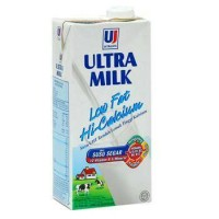 agen susu ultra milk low fat hi-calcium 24 x 200ml