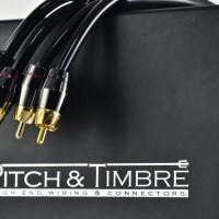 Kabel RCA pitch & trimbe 2.5 Meter bagus murah audio mobil power manta