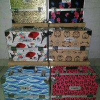 Jual tas kosmetik make up makeup travel cosmetic desktop bag box organizer Murah