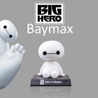 Jual Pajangan Dashboard Mobil Baymax, Boneka Kepala Goyang / Bobble Head Murah