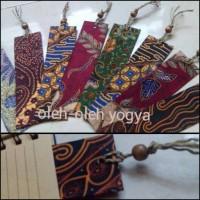 Jual Souvenir pembatas buku batik Murah