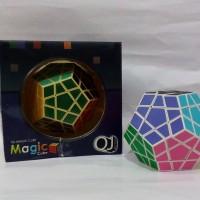 Rubik Kubus Unik Megaminx Asli Original QJ Magic Cube Harga Murah