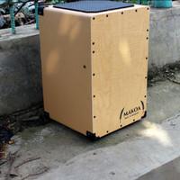 Cajon / Kahon / Drumbox Mahogany dilapisi Kulit merk MAKOA