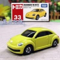 Tomica No 33 Volkswagen Beetle Miniatur Mobil Diecast Takara Tomy