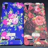 Lenovo A6000 Soft Case Flower / Case Motif