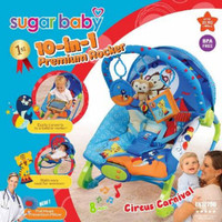 Bouncer Sugar Baby Premium 10 in 1 Rocker