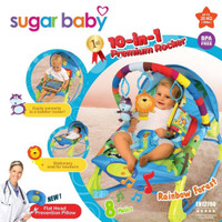 Jual Bouncer Sugar Baby Premium 10 in 1 Rocker Murah