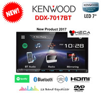 harga Kenwood Ddx-7017bt Head Unit Double Din Tape Audio Mobil Ddx 7017 Bt Tokopedia.com