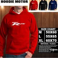 Sweater/Hoodie Yamaha yzf R 25 FONT Hoodie Otomotif Motor/No Zipper
