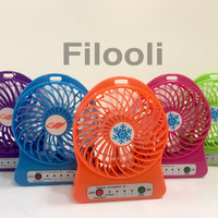 Jual KIPAS ANGIN MINI PORTABLE / MINI FAN USB Murah
