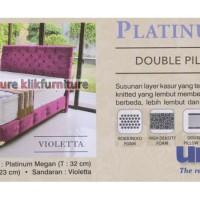 Platinum Double Pillowtop (kasur 200x200cm) Uniland