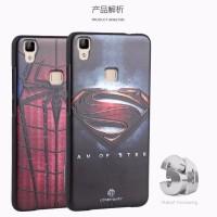 Silikon Superhero Vivo V3 / Y53 Softcase Case Rubber 3D cover HP cover