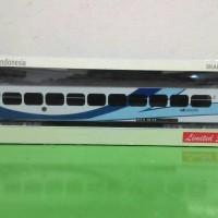miniatur kereta api indonesia - gerbong ekonomi gajahwong / krakatau