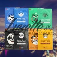 Masker ANIMAL SNP / animal facial mask / masker gambar binatang (ready