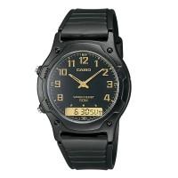 Jam Tangan Pria Analog Casio Standard AW-49H-1BV Original
