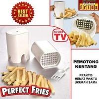 Jual PERFECT FRIES AS SEEN ON TV - Pemotong kentang Murah
