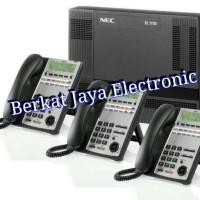 Paket PABX Nec System NEC-SL1000 8 Line 32 Extension
