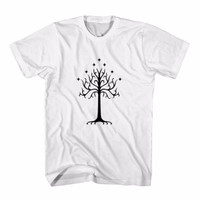 Tumblr Tee / T-Shirt / Kaos Wanita White Tree Of Gondor