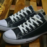 sepatu wanita converse slim original premium black 36-40
