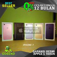 CPO REFURBISH APPLE iPhone 7 128GB Jet Black BNIB Garansi 1 Tahun