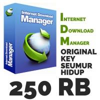 Internet Download Manager (IDM) Original Key 1 PC LIFETIME