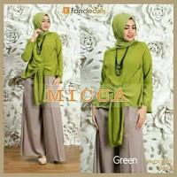 Gamis / Baju / Pakaian Wanita Muslim New Micca Syari