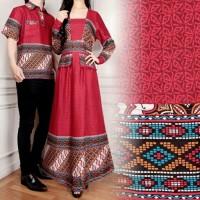 Couple YOLA Baju Kemeja + Gamis Maxi