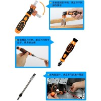 Jakemy 31 In 1 High Grade Screwdriver Set - JM-6121 Termurah