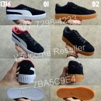 A1316 Sepatu Cewek Casual Kets Olahraga Puma Rihanna Lokal Murah Realp