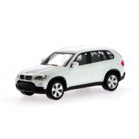 Miniatur Mobil BMW X5 (E70) White Herpa 5,5 cm 1:87