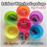 Jual Rainbow Waterbeads package secondhomeshop hydrogel pelangi water beads Murah